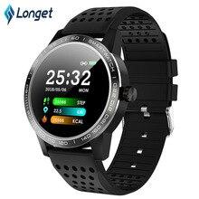 Купить с кэшбэком Longet Smart Watch T2 Waterproof Fitness watch Bluetooth Heart Rate Monitor Wristband Fitness Tracker Sport for iPhone Huawei