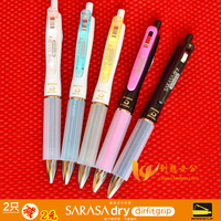 Zebra Unisex Pen Sarasa Quick Drying Jjz49 Pen 5pcs Lot