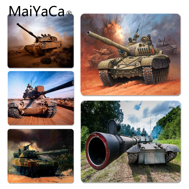 MaiYaCa Tank Customized laptop Gaming mouse pad Size for 18x22x0.2cm Gaming Mousepads