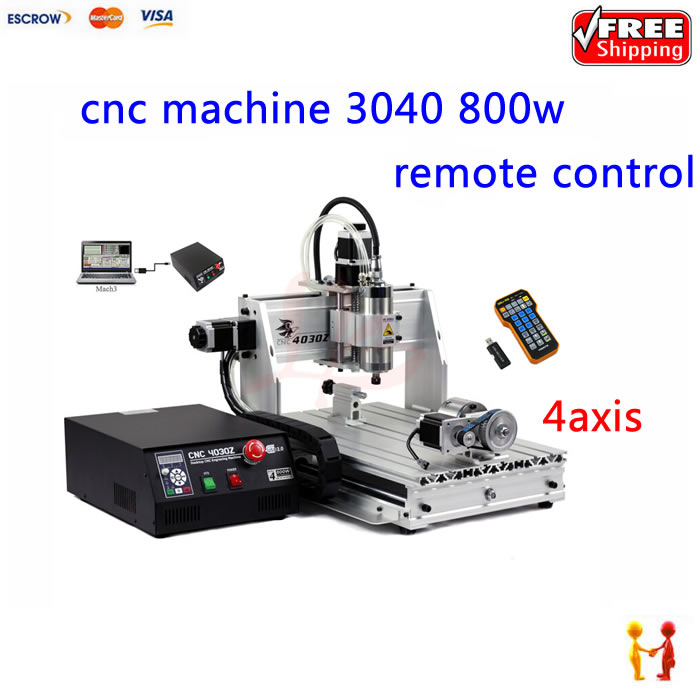 mach3 remote control 3040 cnc engraving machine wood router Ball screw witth 800w spindle factory supply  цены