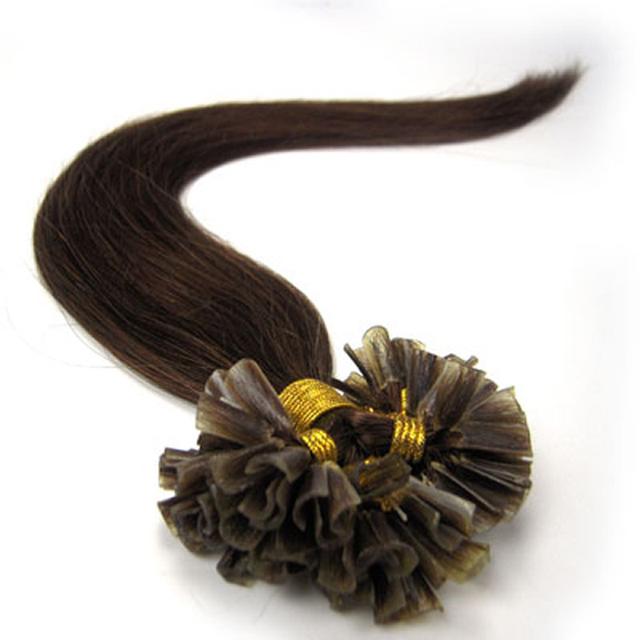 16″-26″ Straight Human Hair Fusion Extension