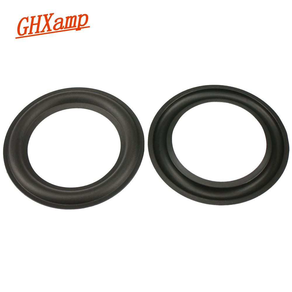 GHXAMP 2.75 Inch 67mm Speaker Rubber Surround Side New Folding Ring Speaker Repair Parts Horn Rubber Edge 2PCS