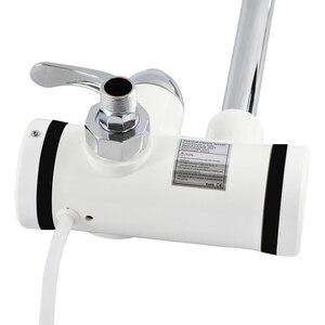 Image 5 - ATWFS anlık haznesiz su ısıtıcı musluk anlık musluk mutfak su ısıtıcı vinç anında sıcak su musluk dijital ab tak