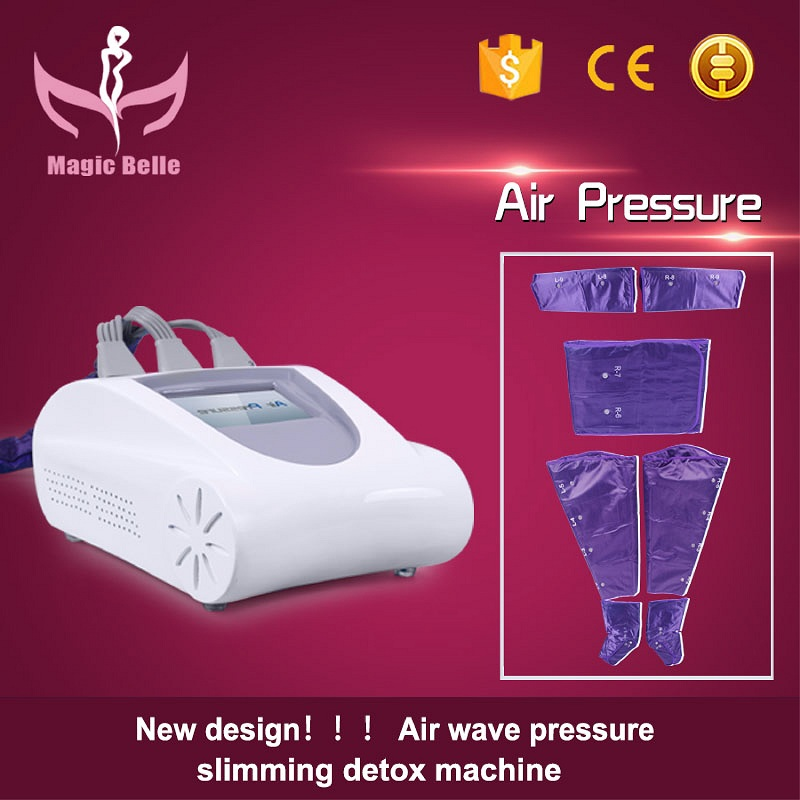 High Quality!! Air Pressure Massager Lymphatic Drainag Detox Suit Machine for Weight loss Slimming blood circulation for Salon