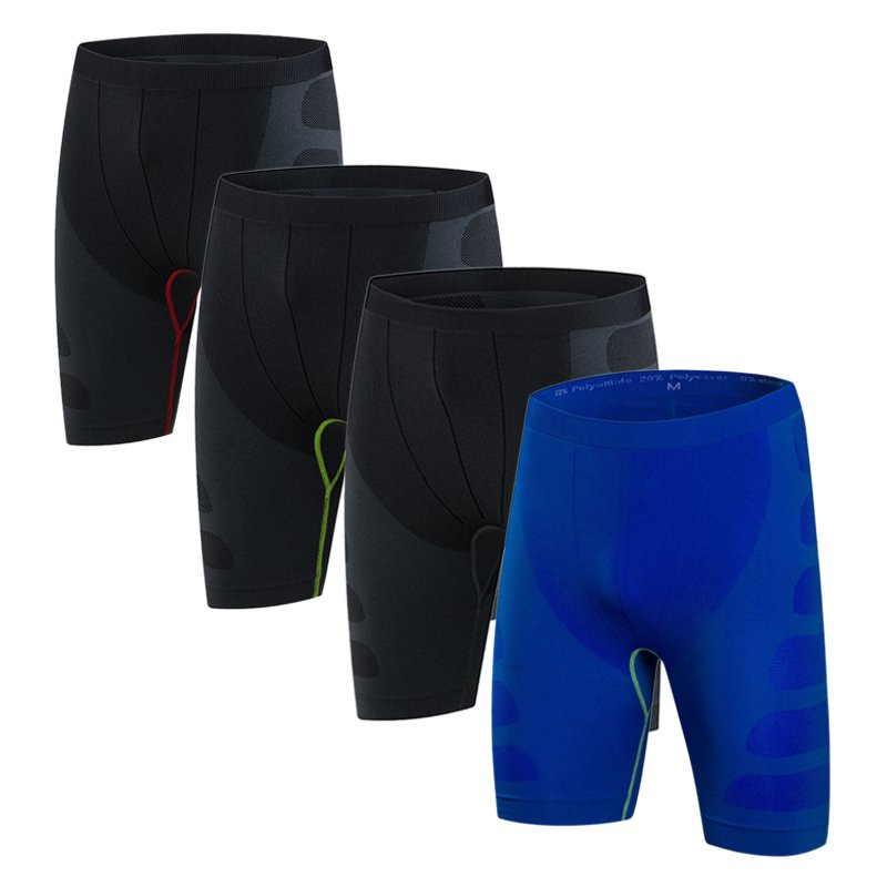 Men Compression   Shorts   Base Layer Thermal Skin Tight   Short   fitness   shorts   men