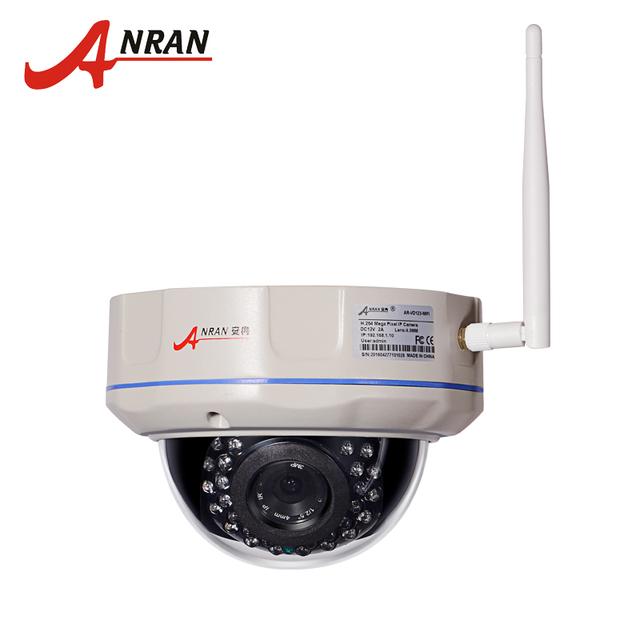 720 P 1.0 Megapixel HD Onvif Vandalproof Dome Ao Ar Livre WI-FI Câmera IP de Rede Sem Fio Segurança Vigilância CCTV Camera
