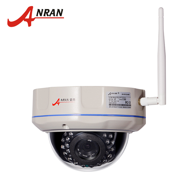 720P 1.0 Megapixel HD Vandalproof Outdoor Dome Onvif WIFI Wireless Network IP Camera Surveillance Security CCTV Camera