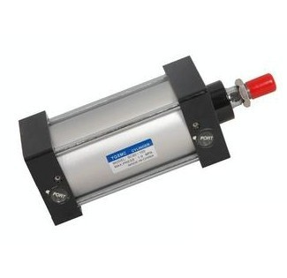 Bore 125mm Stroke 75mm G1/2 Air Cylinder Pull Rod Double Action Pneumatic Cylinder Standard CylinderBore 125mm Stroke 75mm G1/2 Air Cylinder Pull Rod Double Action Pneumatic Cylinder Standard Cylinder
