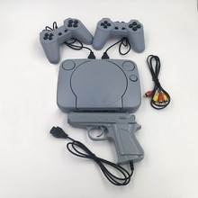 Ретро игры видео консоль Duble геймпад с 8 бит Поддержка AV выход семья ТВ видео игра с 2 шт. контроллер