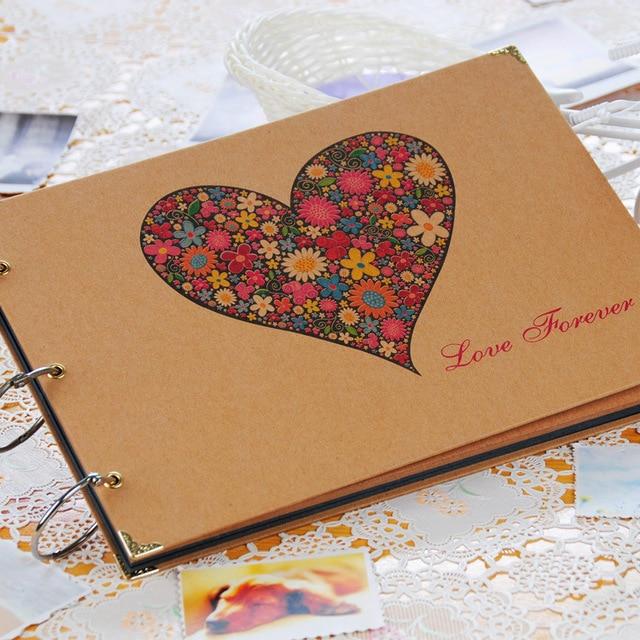 Super DIY album Korean couple family album baby hand paste creative love  KE06