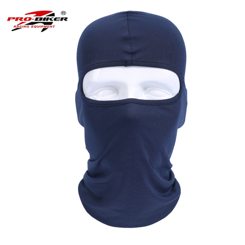 Breathable Summer Balaclava Motorcycle Face Mask Full Face Masks For Motorcycle Helmet Masque Maske Moto Sports Accessories