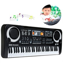 Cheaper 61 Keys Digital Music Electronic Keyboard Key Board Gift Electric Piano Gift Education Electronic Keyboards Pianos US PLUG