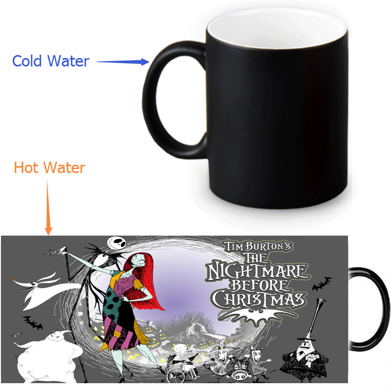 the night before christmas morphing coffee mugs morph mug novelty heat changing color transforming tea mug 12 oz350ml in mugs from home garden on