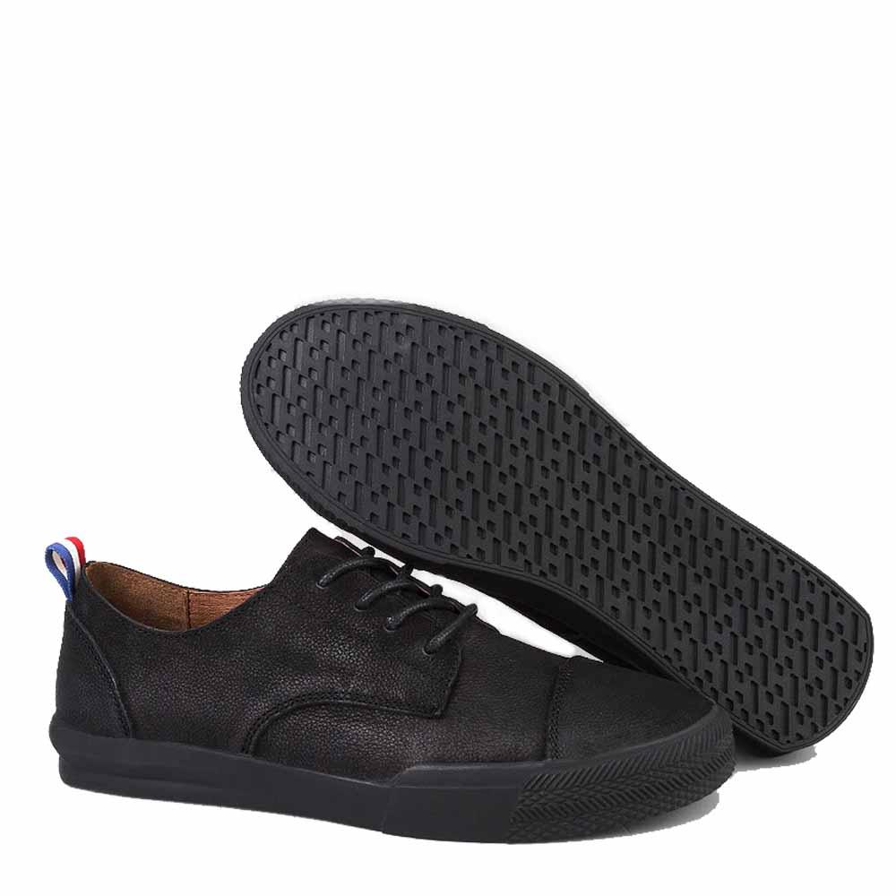 Qffaz 2018 Sapatos Casuais Confortáveis Marca Moda Masculinos Homens De Mocassins Couro Da Black Qualidade Dos Lace Alta Nova up Genuíno brown Apartamentos ttdwrUxq
