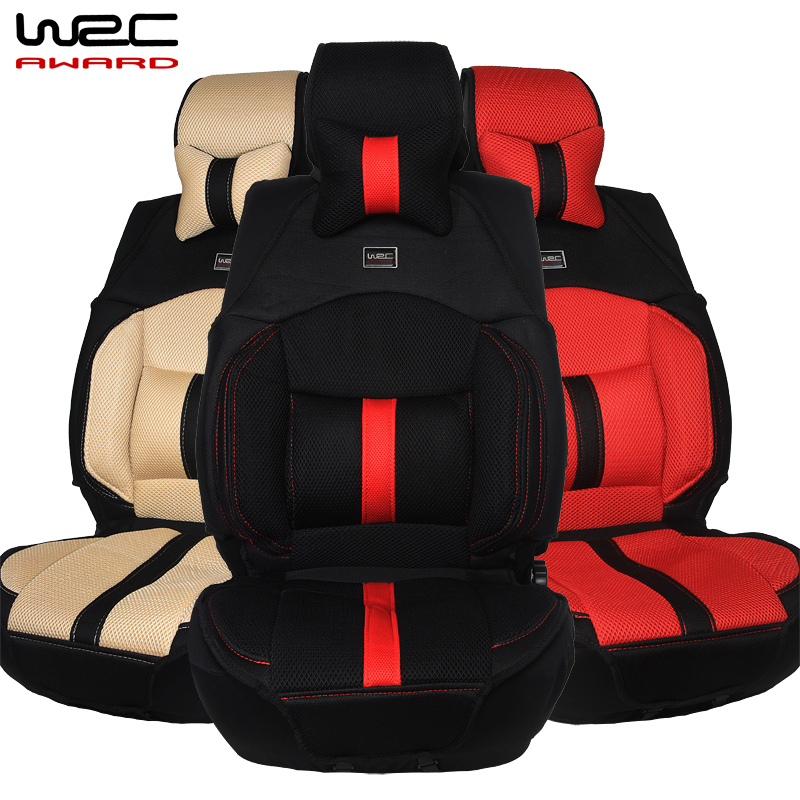 Four Seasons Wrc Sports Health Cassia Ergonomic Shape Structure Car Race Pad Cushion Mats Seat Cover In Automobiles Covers From