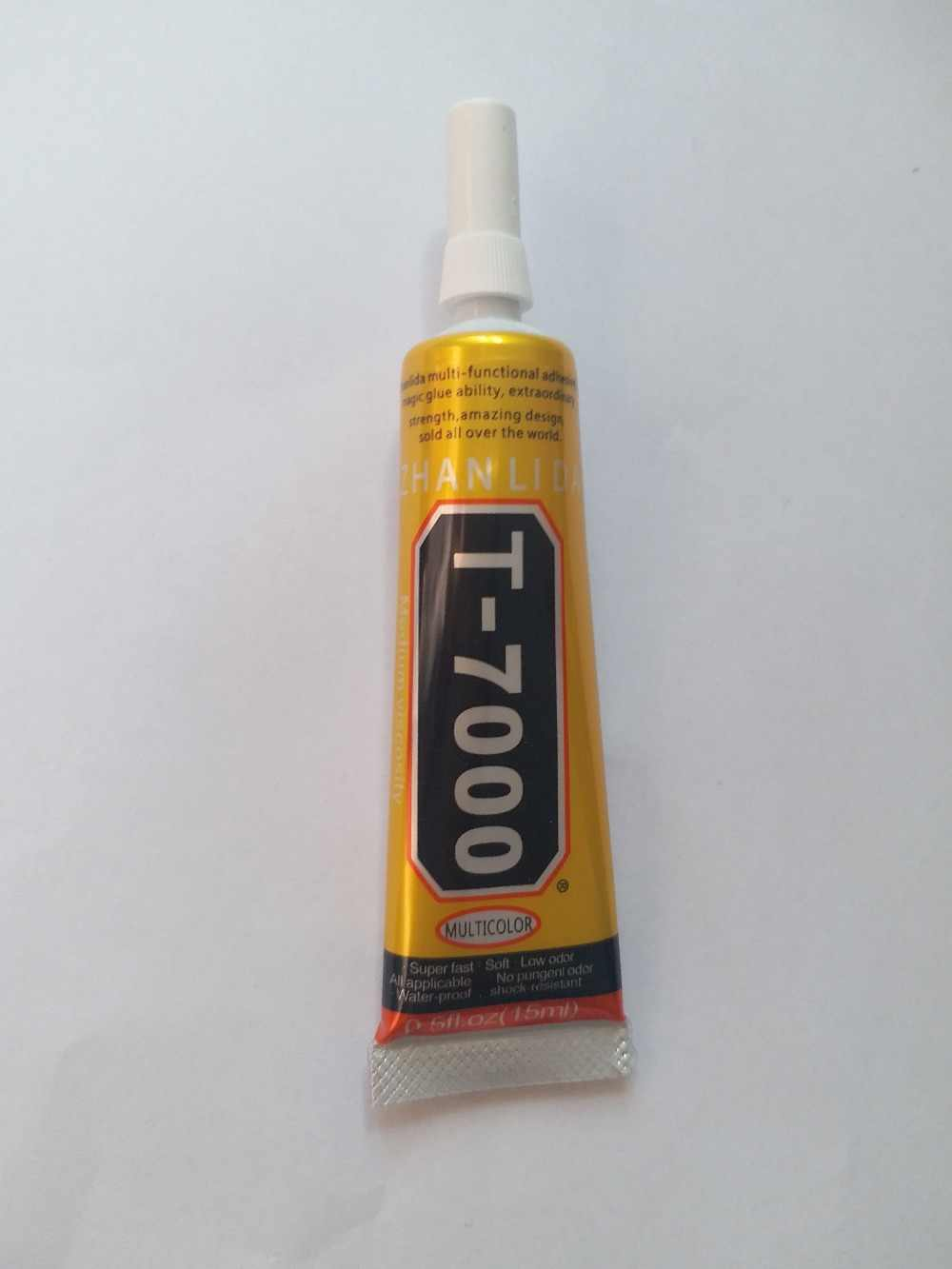 Stronger New T-7000 Glue 15ml Black Super Adhesive Cell Phone Touch Screen Repair Frame Sealant Diy Craft Jewelry Tools T7000