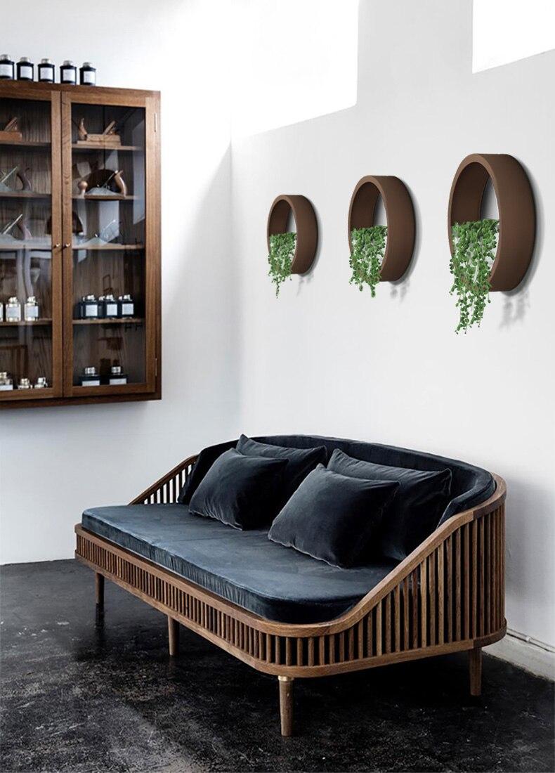 pendurado vasos parede para sala estar decoração