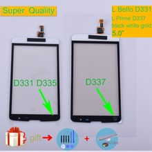 For LG L Bello D331 D335 Touch L Prime D337 TV Touch Screen Touch Panel Sensor Digitizer Front Glass Outer Lens Touchscreen touch panel for lg l bello d331 d335 d337 touch screen digitizer sensor glass lens with logo with tracking number