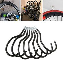 8pcs Bicycle Storage Rack Wall Mounted Bike Hanger Hook Bike Wall Stand Holder
