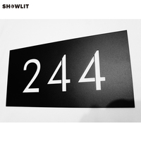Outside Office Door Metal Plaque Name Plate