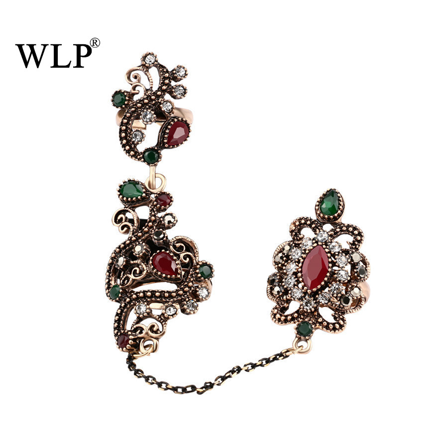 WLP Antique Tassel Ring Sets Bohemian Boho Midi Finger Rings Vintage Carved Women conjuntos de anillo Beach Jewelry HOT A2791