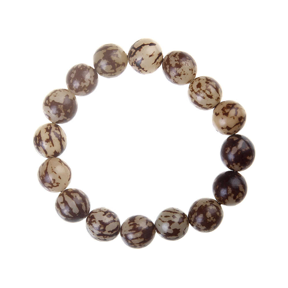 Natural Bodhi seed Good Luck Bracelet Fashion Beads Stretch Charm Bracelets Woman&Man Jewelry