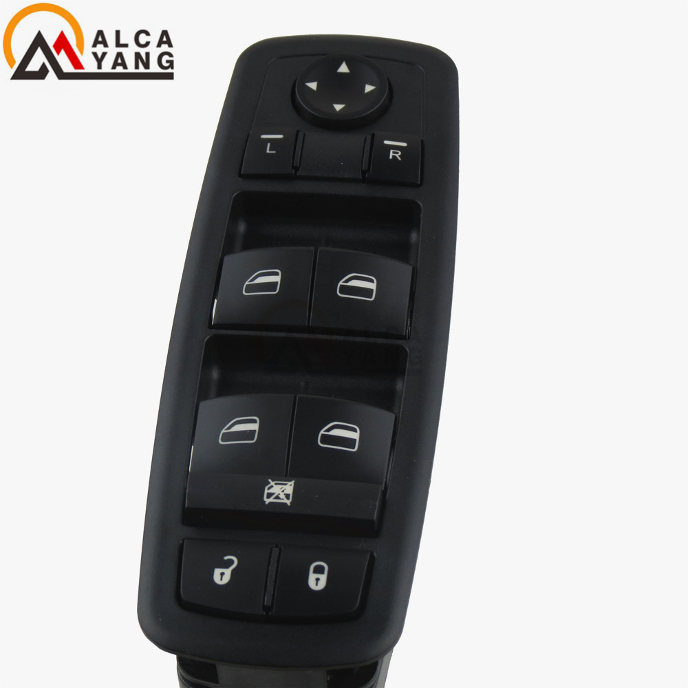 Car styling Power Window Switch Button Driver Side For OE 68039999AC Dodge Ram 1500 2500 3500 2009 2012 Jeep Grand Cherokee