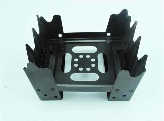 Foldable stove with round shape fuel tablet / Field cooking utensils / Portable alcohol stove / Outdoor camping stove