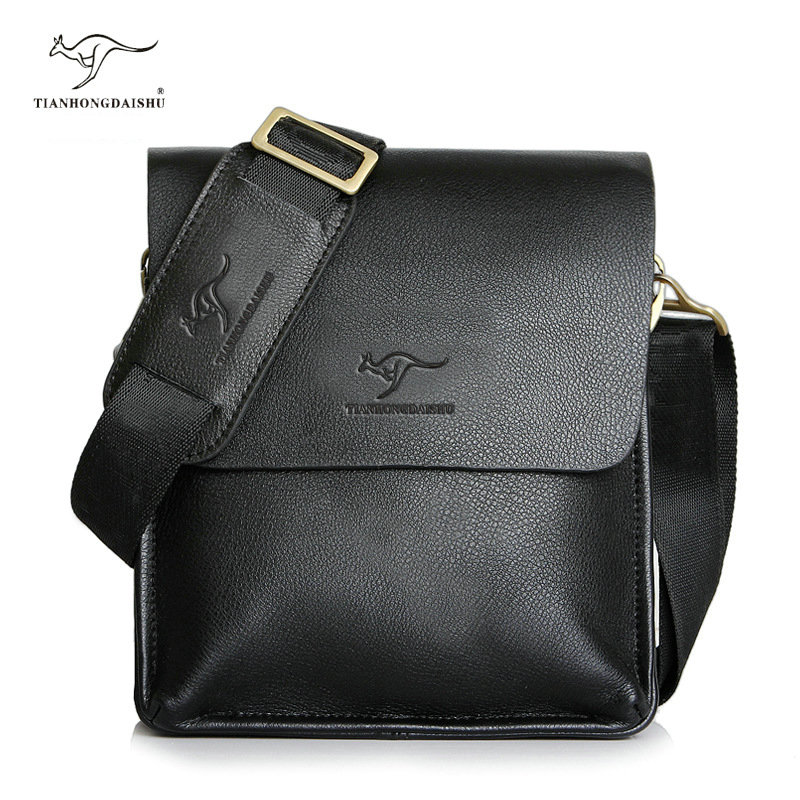 Handbags Messenger-Bag Crossbody-Bag Vintage New-Arrived Luxury Brand Men Men's