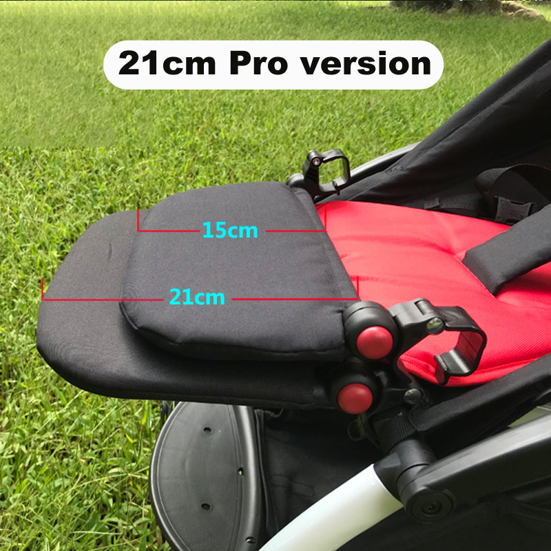 Pro 21cm Baby Stroller Foot Rest Footrest Footboard Feet Extension Accessories For Babyzen YOYO YOYO+ Infant Pram