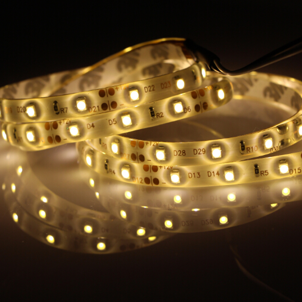 5m 300 600 led 3528 smd waterproof led strip light 12v. Black Bedroom Furniture Sets. Home Design Ideas