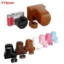 Digicam Video Case For FujiFilm Fuji XA1 XM1 XA2 XM2 XA3 XA10 PU Leather-based Digicam Bag Physique Set Cowl