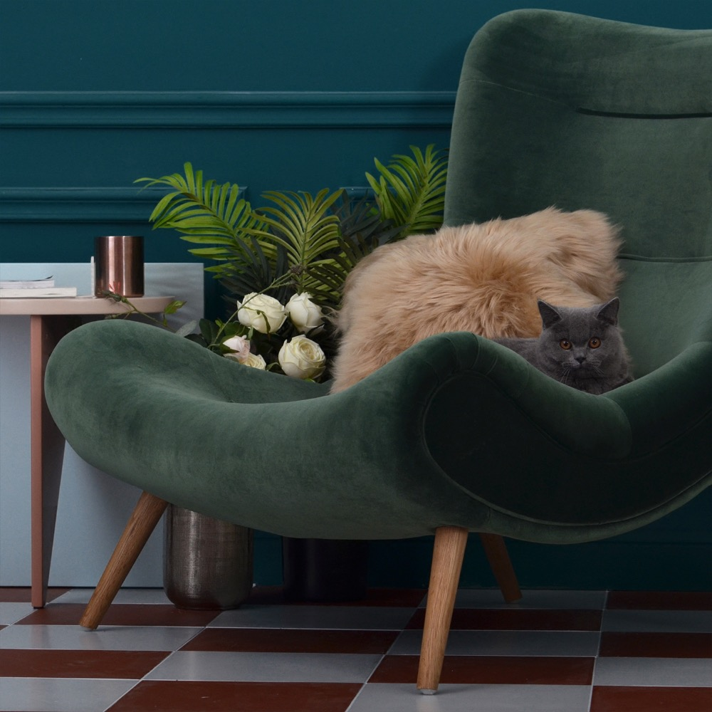 Fabric velvet Chair Living Room Sex Sofa Accent Chair anso contemporary teal color fabric accent chair