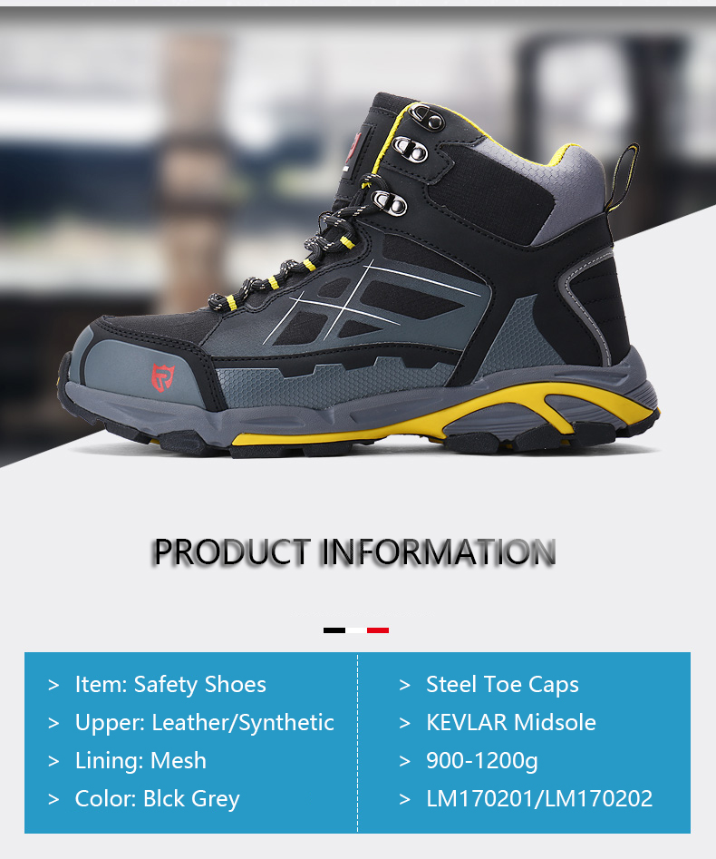 MODYF Men's ESD Non-slip Ankle Boots Steel Toe Work Safety 11