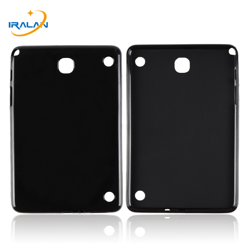 New Slim Soft Silicone TPU waterproof Case For Samsung Galaxy Tab A 8.0 T350 T351 P350 P355 Transparent Back Cover+Stylus pen