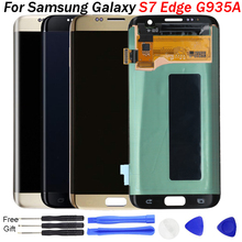 S7 Edge LCD Display For Samsung edge G935 G935F Screen Touch Digitizer Assembly replacement