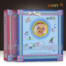 The DIY manual page type baby album 6 inch children album album baby grow film paste