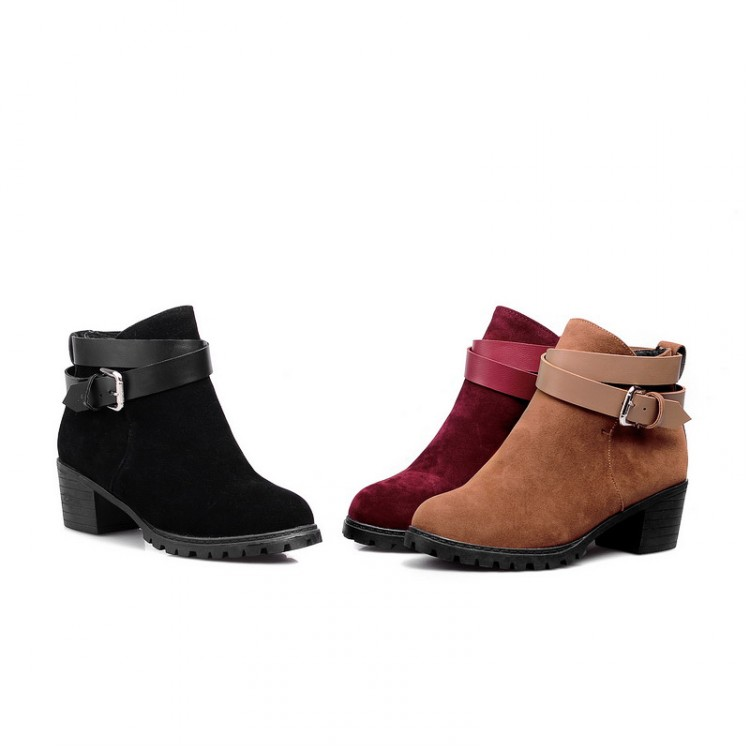 winter safety long thigh high women woman femininas ankle boots botas masculina zapatos botines mujer chaussure femme shoes 8-6