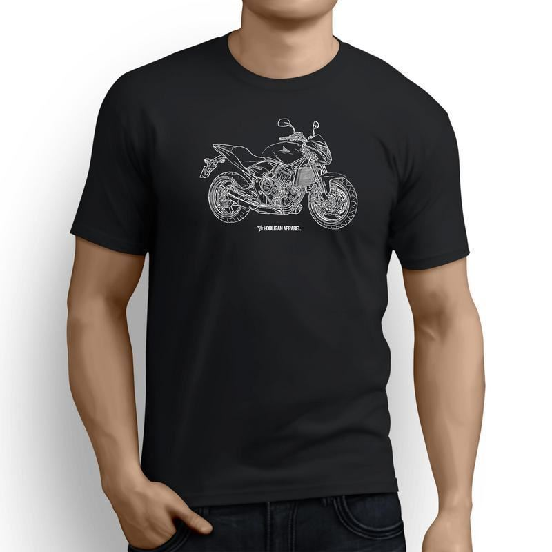 Tee Shirt O-Neck Tops Male New Fashion for Men Short Sleeve Japanese Motorcycle Fans Cb600F 2013 Inspired Motorcycle Movie Tee image