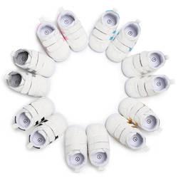 Весенне-осенняя Повседневная нескользящая обувь для маленьких мальчиков и девочек 0-1 лет