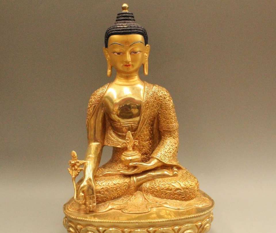 13 Tibet Budizm Bronz Tezhip Ejderha Sakyamuni Shakyamuni Amitabha Buda Heykeli13 Tibet Budizm Bronz Tezhip Ejderha Sakyamuni Shakyamuni Amitabha Buda Heykeli