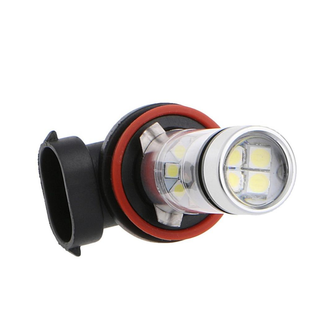 Pair H16 H11 100W Car 20LED 8000K White Fog Light Bulbs Conversion Kit Car Accessories Energy saving Environmental Protection in Signal Lamp from Automobiles Motorcycles