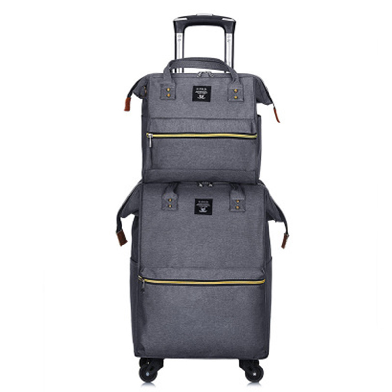 Set luggage portable trolley travel backpack trolley bag women fashion lightweight large capacity  suitcase/box  wheel Carry-onSet luggage portable trolley travel backpack trolley bag women fashion lightweight large capacity  suitcase/box  wheel Carry-on