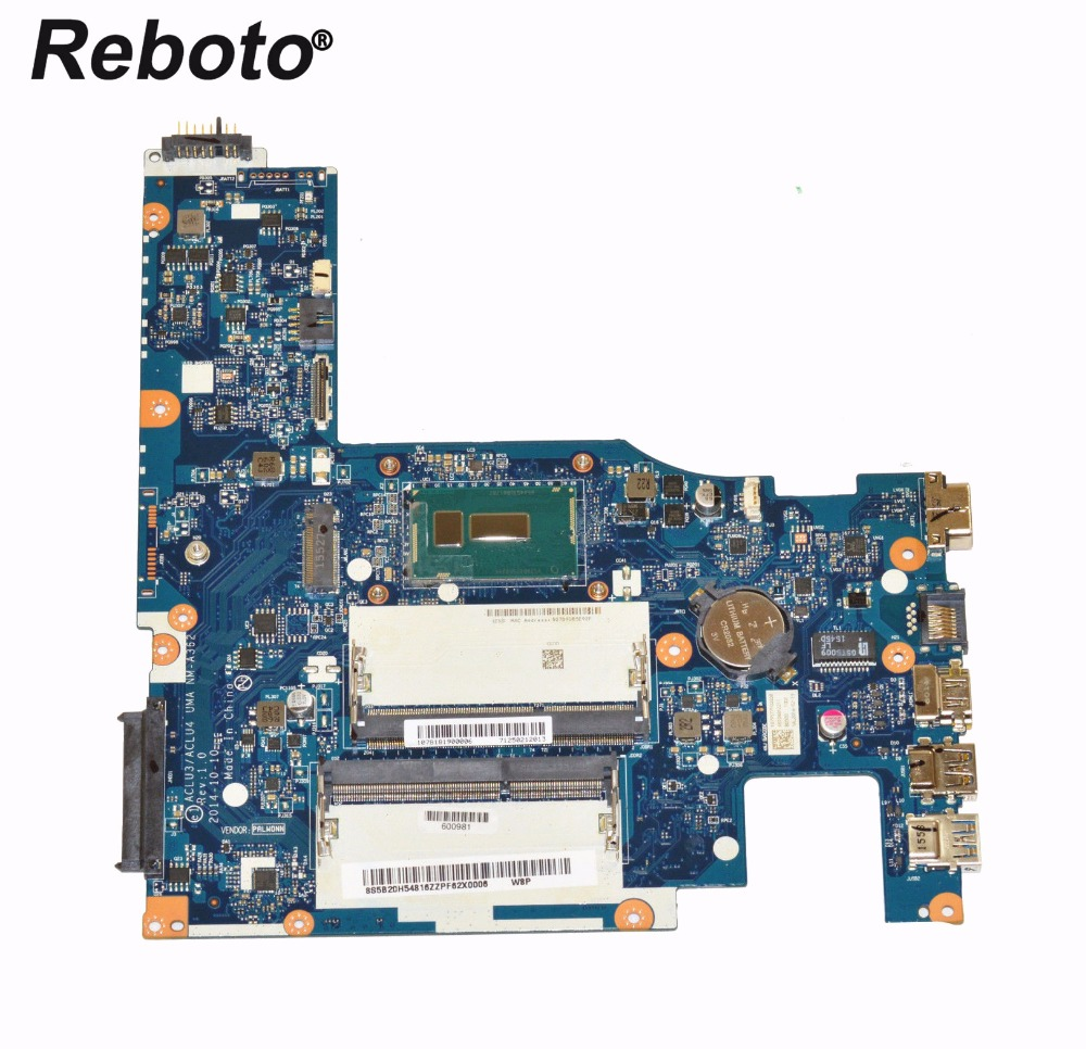Reboto For Lenovo G50 80 Laptop Motherboard With i5 5200U 2 2GHz CPU 5B20H54816 ACLU3 ACLU4