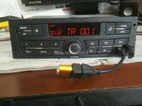 New Car Audio Player Car Radio Auto Radio 1 Din for Peugeot 207 206 301 307 Citroen C2 ZX USB Autoradio