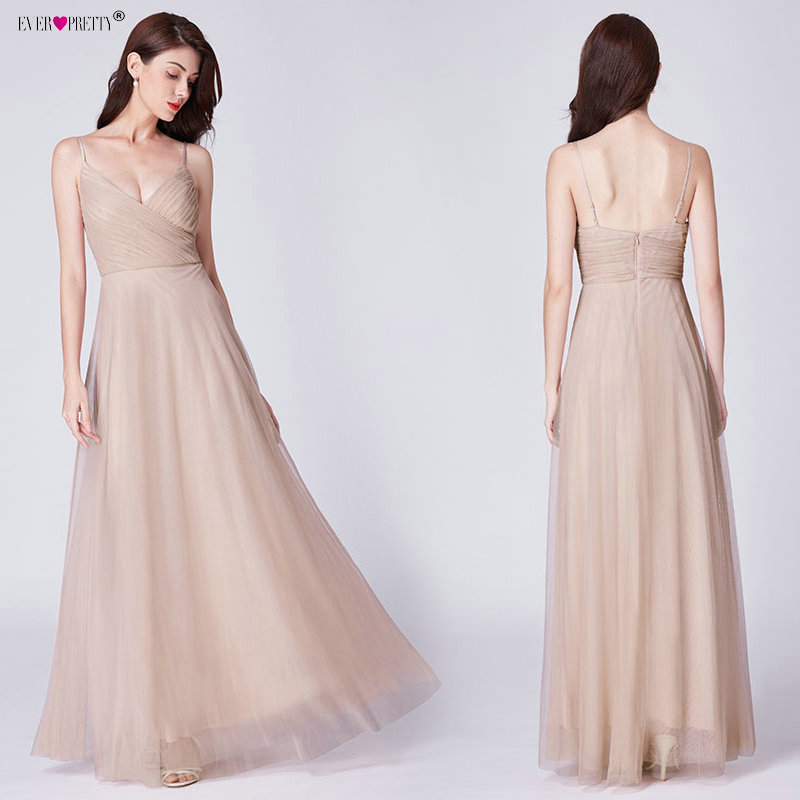 Blush Pink Bridesmaid Dresses Ever Pretty EP07303 Sweetheart A-line - Suknelės vestuvėms - Nuotrauka 3
