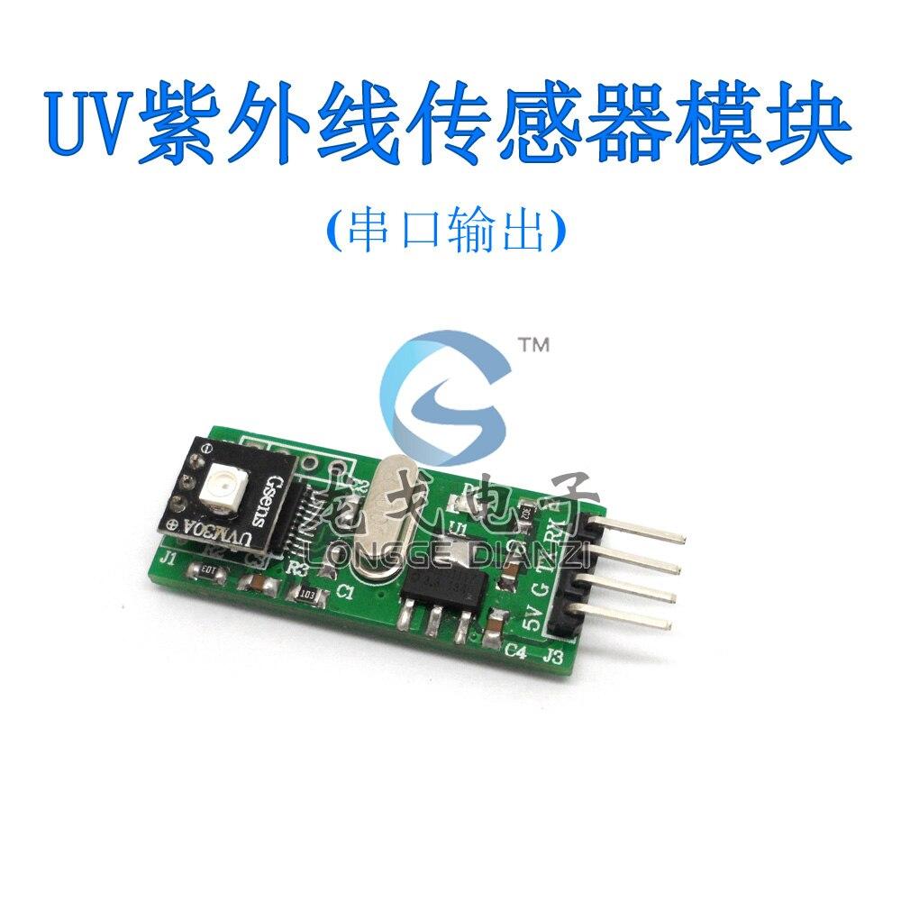 UVM-30A UV sensor module UV detection module serial output esp 07 esp8266 uart serial to wifi wireless module
