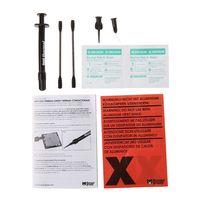 熱グリズリー conductonaut 1 グラムのグラフィックスカード cpu gpu 冷却液体金属化合物クーラーファン熱グリース 73 ワット/mk