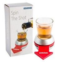 KTV bar Shot Spinner Party Game Draaibaar Pijl Bier Wijnglas Cup Kit Spin De Borrelglas Drinken Spel Fun Party Geschenken