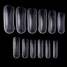 Полигель для ногтей быстрое строительство форма двойная наконечники